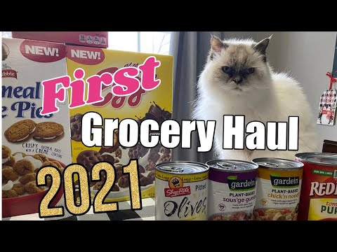 💥 FIRST GROCERY HAUL OF 2021! 🎉 HOW TO SHOP ON A BUDGET AND FOR FREE!  🛒