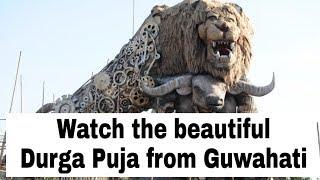 #Guwahati Durga Puja Special video//videos by AD unique videos