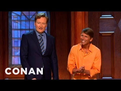Jack McBrayer's April Fools' Prank - CONAN on TBS