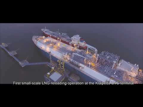 KN (AB Klaipedos Nafta) LNG reloadining station