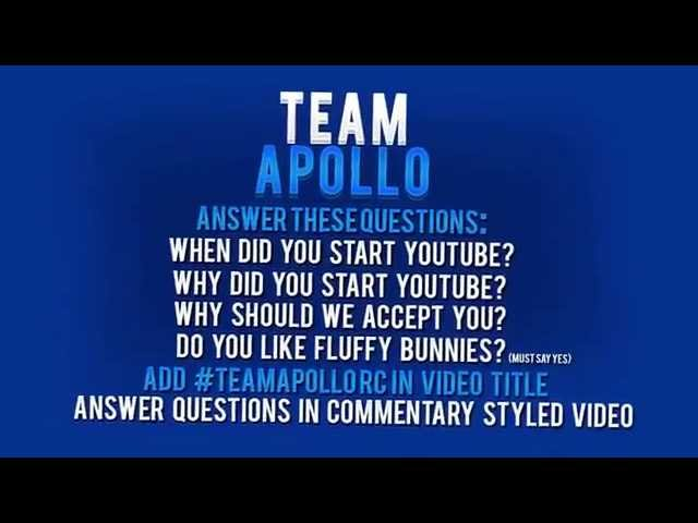 #TeamApolloRC [Team For Gamers, Designers, Editors, etc.] [Official] [Feel Free To Re-Upload]