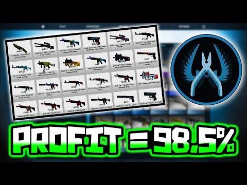 BEST WAY TO MAKE PROFIT IN CSGO GAMBLING!!
