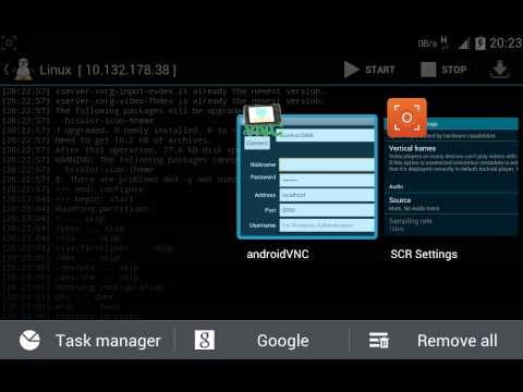ubuntu for android  menggunakan linux deploy