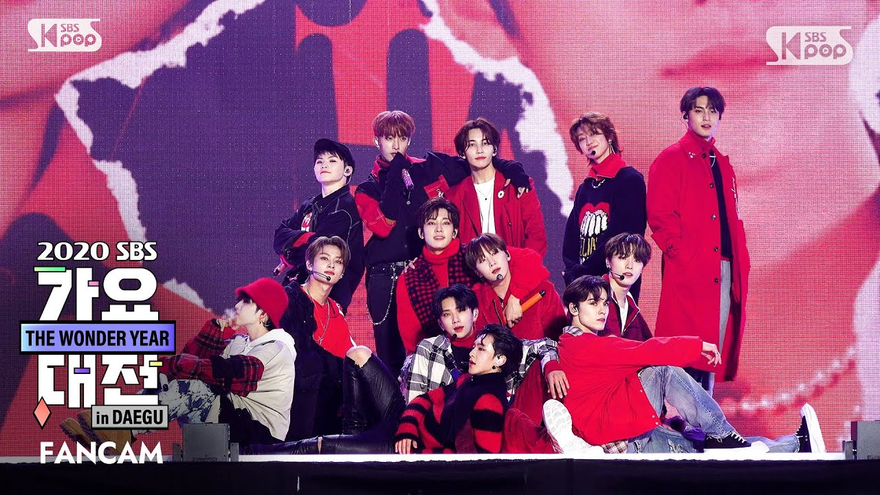 [2020 가요대전] 세븐틴 'Left&Right' 풀캠 (SEVENTEEN 'Left&Right' Full Cam)│@2020 SBS Music Awards