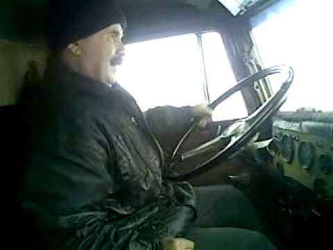 Коробка передач на русской машине КАМАЗ