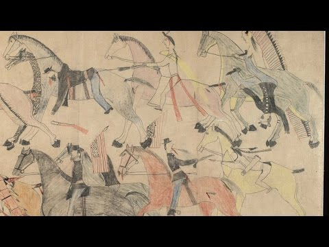 Red Horse: Drawings of the Battle of the Little Bighorn