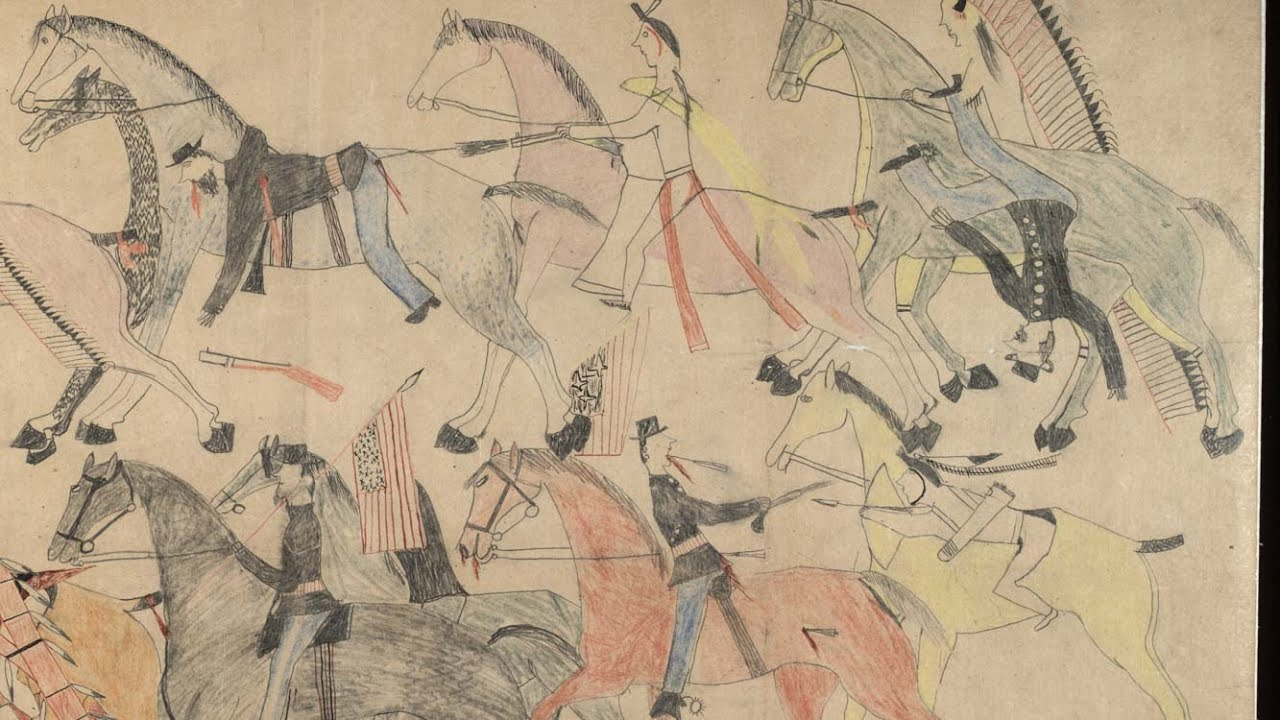 Lakota Sioux Native American Indian artwork art illustration drawing historical