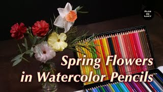 Spring Flowers in Watercolor P…