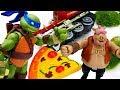 Видео с игрушками Черепашки Ниндзя попали в аварию mp3