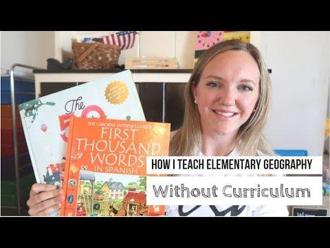 How I Teach Geography    No Curriculum