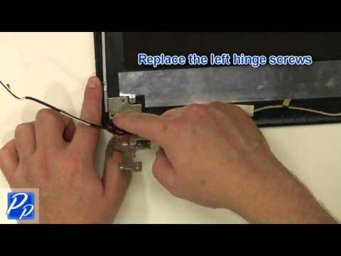 Dell Inspiron 15 (3521 / 5521) Hinge Rail Replacement Video Tutorial
