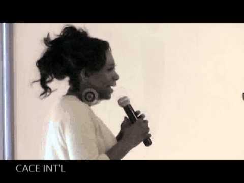 Sheryl Lee Ralph -Mocha Award on CACE INT
