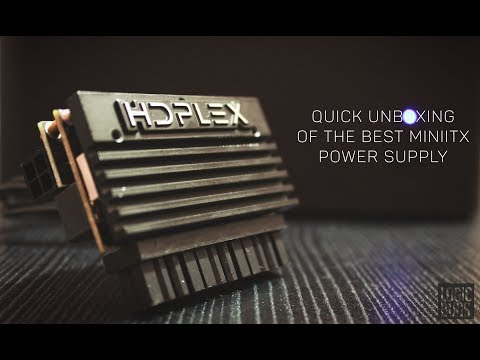 HDPlex 160W Quick Unboxing | Smallest Mini ITX Power Supply in The World