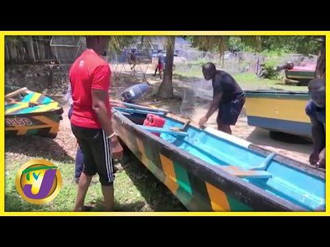 Fishermen Preparing for the Storm | TVJ News - July 3 2021