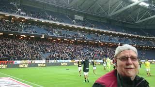 Milosevic drar igång klacken (AIK - DIF 2-0)
