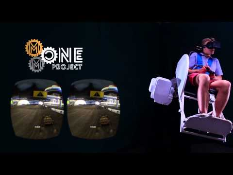 MMOne + TrackMania 2 Stadium Virtual Reality eSport Full Track Game Experience