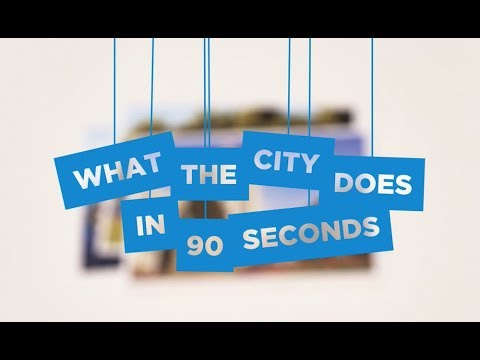 The City of Vancouver in 90 Seconds