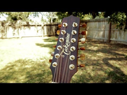 Takamine Pro Series 3 (P3DC-12) Docerola/Requinto/12 String Guitar - Review