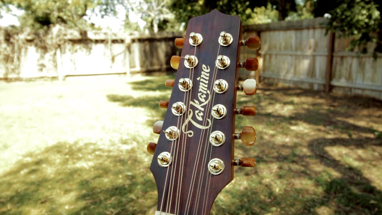 takamine pro series 3 p3dc 12 docerola requinto 12 string guitar review youtube. Black Bedroom Furniture Sets. Home Design Ideas