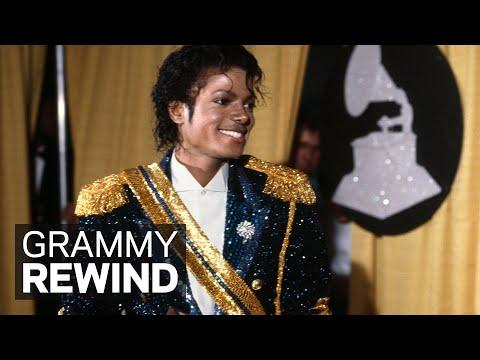 Michael Jackson Wins Best Pop Vocal Performance For 'Thriller' | GRAMMY Rewind