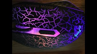 Unboxing Gaming Mouse/ How to use it