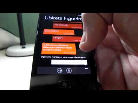 Portugues pt-br Review Samsung Omnia W com WP7