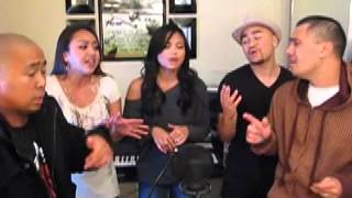 Drop N Harmony & Honey Luv :: One Sweet Day (The Sing Off Audition Reel)