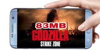 !!83MB!! Download godzilla strike zone game for Free any Android device
