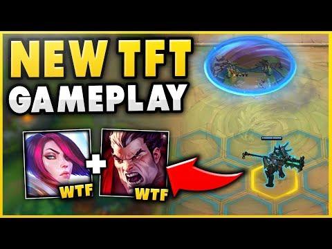 NEW TEAM FIGHT TACTICS (TFT) GAMEPLAY! DIAMOND AUTO CHESS PLAYER VS. TFT - League of Legends