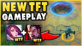 NEW TEAM FIGHT TACTICS (TFT) GAMEPLAY! DIAMOND AUTO CHESS PLAYER VS. TFT - League of Legends