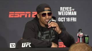 Greg Hardy Explains Why He Used Inhaler At UFC Fight Night Boston Video