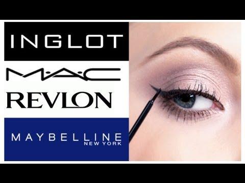 Обзор-сравнение подводок для глаз / <b>MAC</b>, INGLOT, Revlon ...