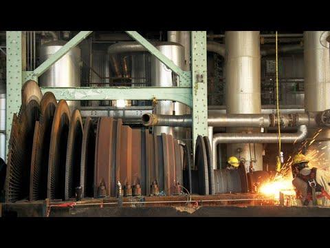 A Rare Look Inside a Power Plant's Giant Steam Turbine