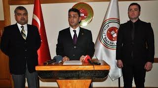 Sinop Cumhuriyet Başsavcısı Ozan Kaya - Basın Açıklaması