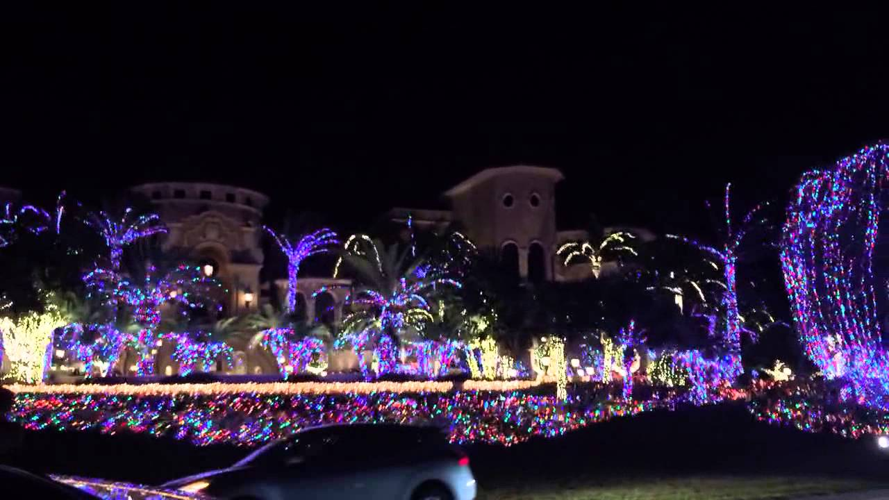 Jensen Beach Mansion Christmas Lights 2020 Jensen Beach FL Mansion Christmas Lights   YouTube