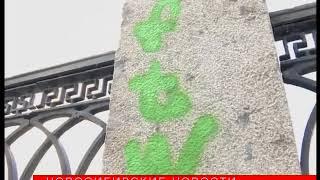 Яблони «Рудольф» нанабережной Оби снова пострадали отрук вандалов
