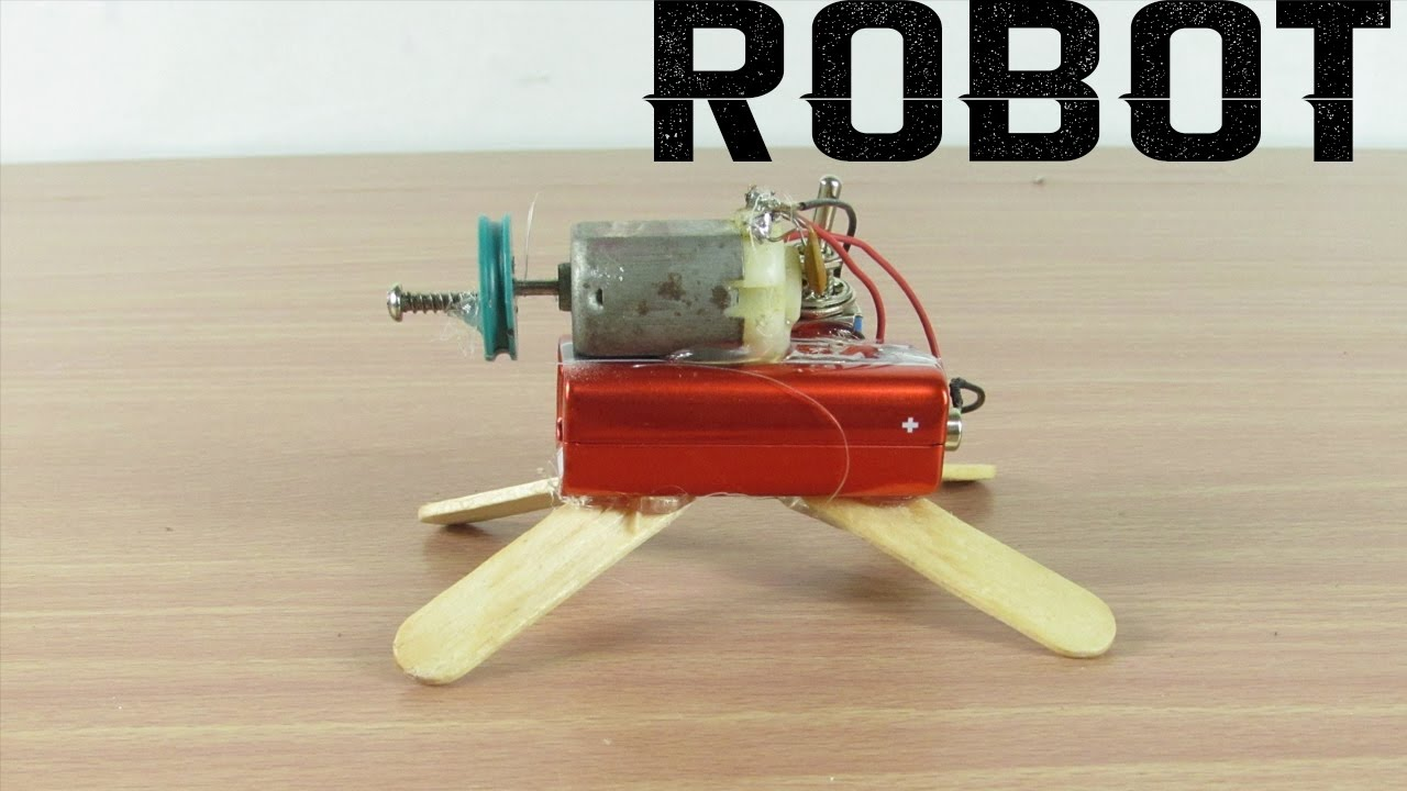 Como Hacer Un Robot Casero En 3 Minutos