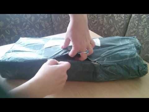 Распаковка посылки с Алиэкспресс Алмазная вышивка волчья семья