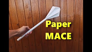 How to make a Mace out of paper