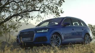 2015 Audi Q7 driving footage