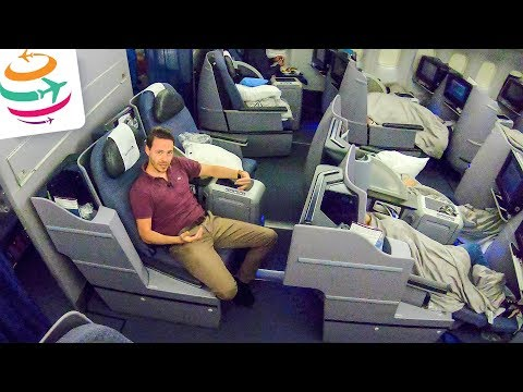 United Airlines Business Class 777-200ER | GlobalTraveler.TV