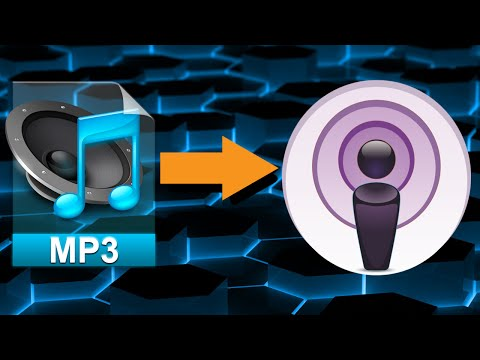 How to put MP3's as Podcasts in iTunes