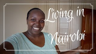 NAIROBI HOUSE HUNTING! MODEST EMPTY APARTMENT TOUR , WE GOT LOST IN THE LIFT!