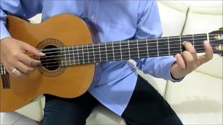 The Wanted Glad You Came Guitar Tutorial No Capo Fingerstyle (Intro) - Guitar Lessons for Beginners