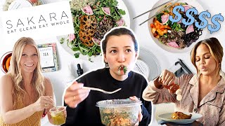 I tried the CELEBRITY DIET PROGRAM this week & here's what happened...!!!!   Sakara Life Review
