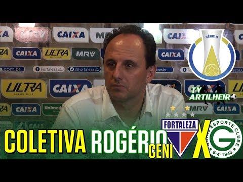 [Série B '18] Coletiva Rogério Ceni   Pós-jogo Fortaleza EC 3 X 0 Goiás EC   TV ARTILHEIRO