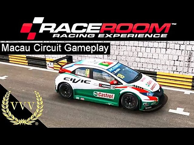 R3E Macau Circuit WTCC 2014 Gameplay