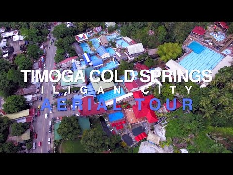 Timoga Cold Springs Iligan Aerial Tour 4K