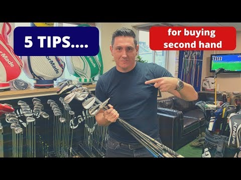 BUYERS GUIDE TO SECOND HAND GOLF CLUBS