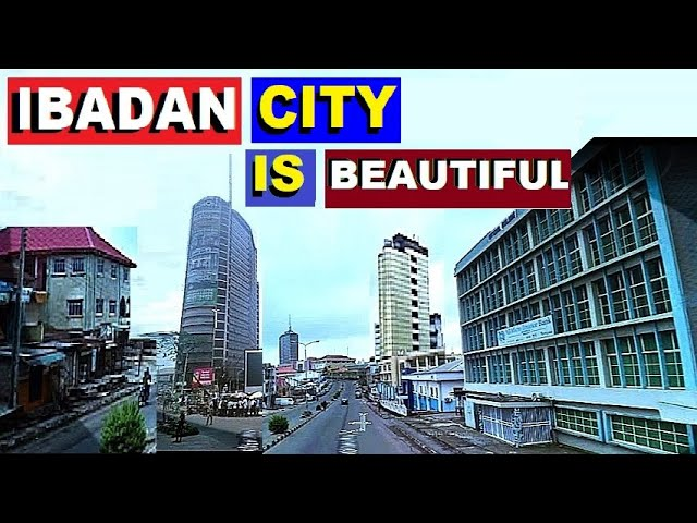 IBADAN CITY IN OYO STATE IS BEAUTIFUL & TALL. SKY SCRAPERS IN THE CITY  CENTER. - YouTube